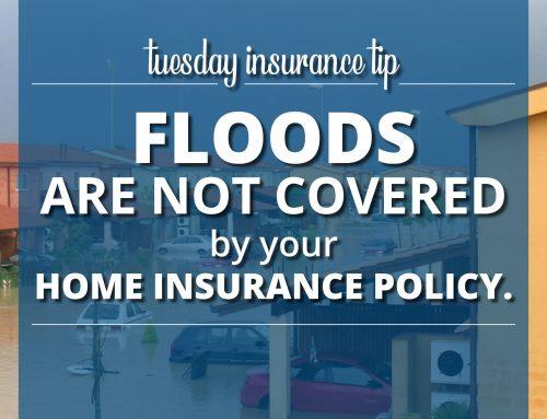 Tuesday Insurance Tip – Floods