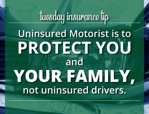 Tuesday Insurance Tips – Uninsured Motorist