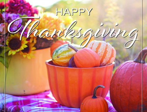 Have a Happy — and Safe – Thanksgiving