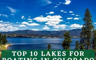 Top Lakes in Colorado Graphic
