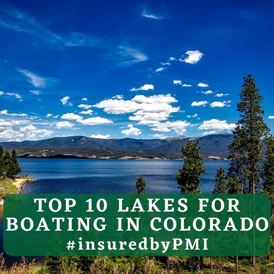 Top Lakes in Colorado Graphic